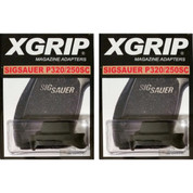2-PACK X-Grip S250SC Use Sig P320C 250C Magazine in P320SC 250SC