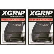 2-PACK X-Grip S250SC Use Sig P320C 250C Magazine in P320SC 250SC