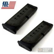 Kel-Tec PF9 PF-9 9mm 7 Round MAGAZINE 2-PACK PF9-498