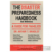 """The DISASTER PREPAREDNESS Handbook"" Emergency Survival Prep 44380"