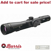 BURRIS ELIMINATOR III 4-16X50mm LASERSCOPE X-96 Reticle 200116 - Add to cart for sale price!