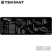 TekMat Gunsmithing Bench MAT 12x36 w/ .223 Rifle Diagram 36AR15BK