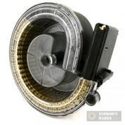 MWG AR-15 M16 90-Round High Capacity DRUM Magazine AR1590