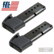 KEL-TEC P3AT 380ACP 9 Round EXTENDED Magazine 2-PACK P3AT-37 P3AT-9