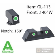AmeriGlo GLOCK 17-39 Tritium Night Sights SET Classic GL-113