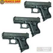 Pearce Grip GLOCK 26 27 33 39 Grip EXTENSION 3-PACK PG-26