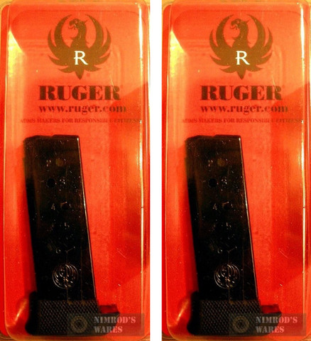 2-Pack Ruger LCP *7 ROUND* .380 ACP Magazines w/ Grip Extensions 90405