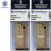 Smith & Wesson SD40 SD40VE 40S&W 10 Round SS MAGAZINE 2-PACK 19928 OEM