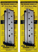 Chip McCormick 1911 XP 9mm 10 Round MAGAZINE 2-PACK 19003 SS
