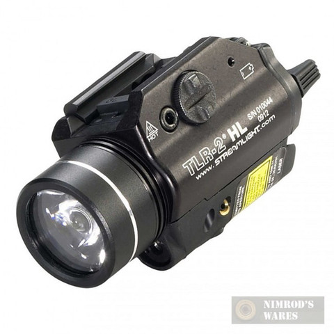 STREAMLIGHT TLR-2 HL Weapon LIGHT + LASER 800 Lumens C4 LED 69261