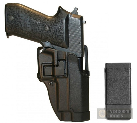 BLACKHAWK Sig P220 226 225 MK25 Holster PLUS Single Magazine CASE
