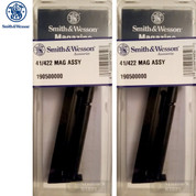 S&W Smith & Wesson 41 422 622 2206 .22 LR 10 Round MAGAZINE 2-PACK 19050
