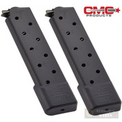 Chip McCormick 1911 .45 ACP 10 Round COMBAT Power MAGAZINE 2-PACK M-PM-45FS10B