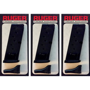 3-Pack Ruger LC9 LC9S 9mm 7-Round Magazines 2 x Floorplates 90363
