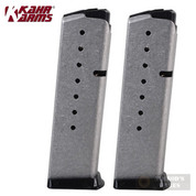 KAHR K920 8 Round MAGAZINE 2-PACK For ALL Kahr 9mm Handguns