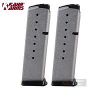KAHR K920 8 Round MAGAZINE 2-PACK For ALL Kahr 9mm Handguns