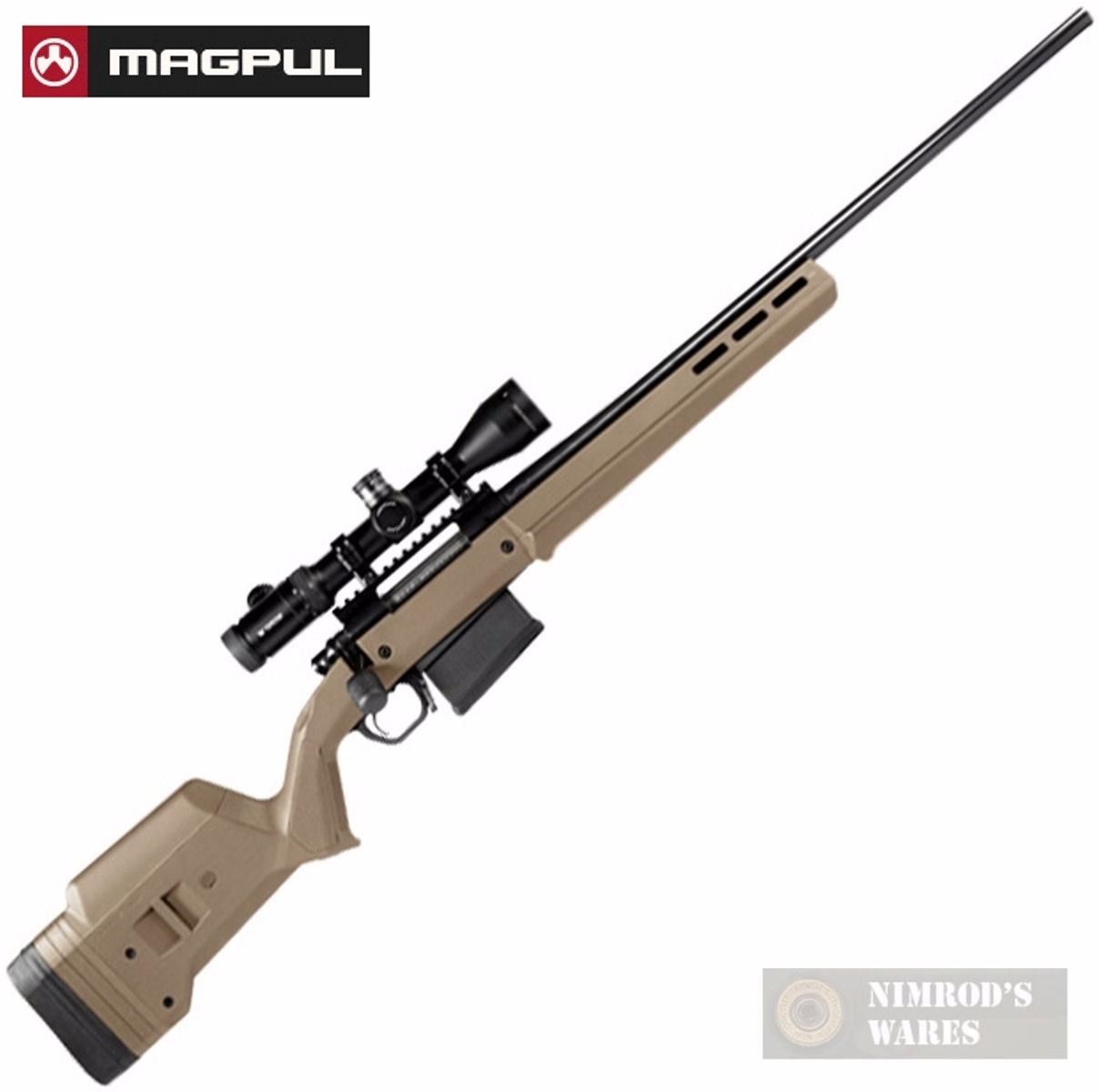 MAGPUL HUNTER 700L Remington 700 Long Action STOCK/CHASSIS MAG483-FDE