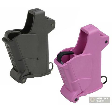 Maglula BABY UpLULA Univ. Pistol Mag. Loaders BLACK + PINK 22-.380 UP64B UP64P