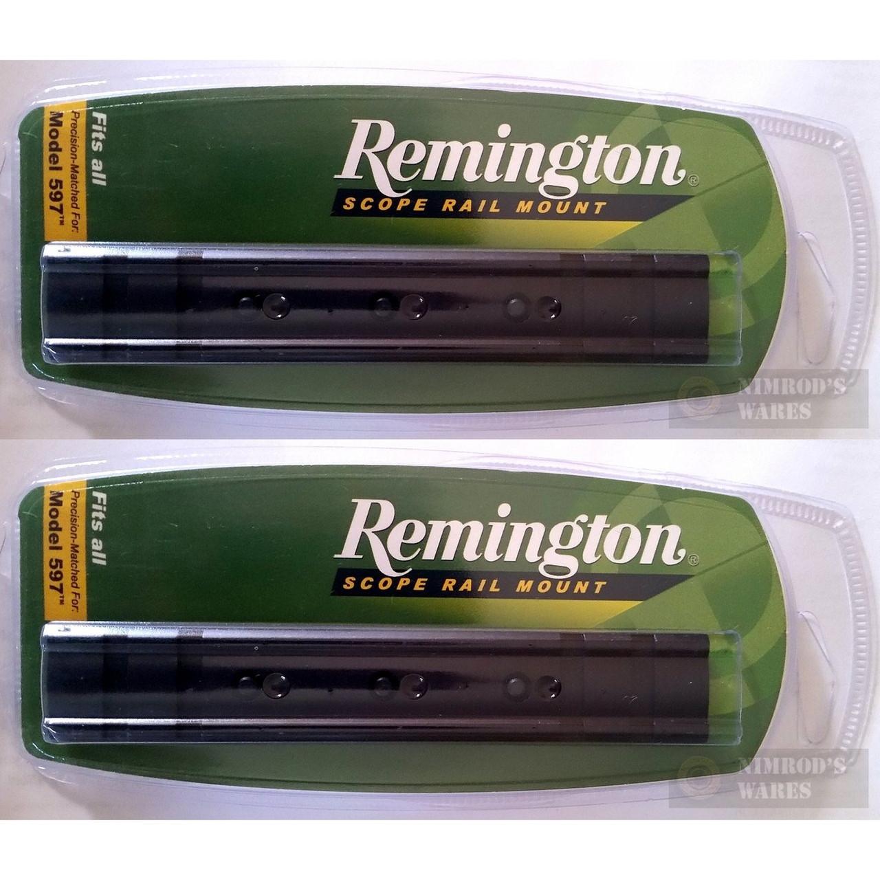 "Remington 597 Rifle 1/"" Scope Mount Rail Black-18635"