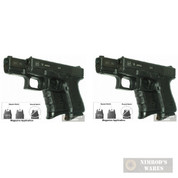 Pearce Grip PG-19 2-PACK GLOCK Mid/Full-Size Contoured Grip Extensions