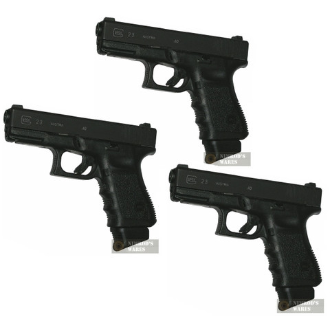 Pearce PGGP 3-PACK Glock 9mm/40SW/357Sig Extensions for Hi-Cap Magazines Add 1-3 Rds
