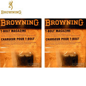 BROWNING 112055290 2-PACK T-Bolt Double-Helix 22LR 10Rd Magazines