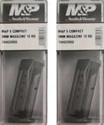 S&W Smith & Wesson M&P Compact 9mm 10 Round Magazine 2-PACK 19462