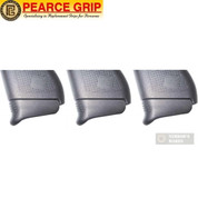 Pearce Grip GLOCK 43 G43 GRIP Extension PLUS one 3-PACK PG-43+1