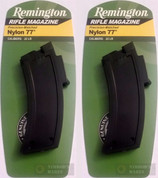 REMINGTON Nylon 77 22LR 10-Round Rifle Magazine 2-PACK 19656