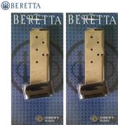 Beretta BU9 NANO 9mm 8 Round MAGAZINE 2-PACK JM8NANO9