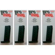4-PACK ProMag Taurus TCP PT-738 .380ACP 6 Round Magazines TAU18