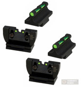 HiViz Ruger 10/22 Rifle LITEWAVE Front / Rear Sights Sets 2-PACK RG1022