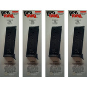 4-PACK ProMag RUGER LC9 9mm 7-Rd Steel Magazine RUG16