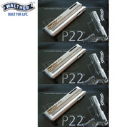 Walther P22 22LR 10 Round Standard SS Magazine 3-PACK 512602