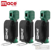 MACE Muzzle Dog K9 Deterrent PEPPER SPRAY 3-PACK 10ft Range 80146 80536