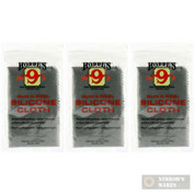 Hoppe's 1218 Silicone Gun & Reel Cloth 3-PACK: Polish/Coat/Protect