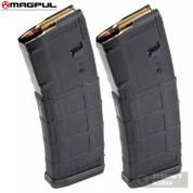 MAGPUL PMAG 30 GEN M2 MOE 5.56 .223 AR15 M4 Magazine 2-PACK MAG571-BLK