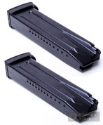 H&K P30 P30L P30S VP9 9mm 15 Round Steel Magazine 2-PACK 234316S