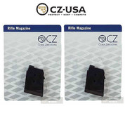 CZ 452 453 455 ZKM Rifle .22 LR 5 Round MAGAZINE 2-PACK 12003