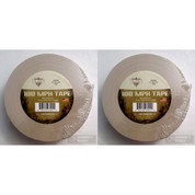 TAC SHIELD 100MPH Heavy Duty Tactical TAPE 60yds TAN 2-PACK 03980