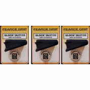 3-PACK Pearce Grip PG-2733 GLOCK 26/27/33/39 Grip Extensions PLUS