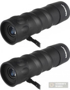 TASCO Essentials 10x25mm MONOCULAR 2-PACK Roof Prisms + CASE 568RB