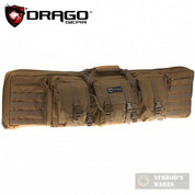 "DRAGO Gear 42"" Double-Rifle Case w/ Padded Divider TAN 12-323TN"