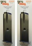 ProMag Browning Hi-Power / P-35 9mm 10 Round Magazine BRO01