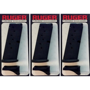 Ruger LC380 LC 380 .380 ACP 7 Round Magazine 3-PACK 90416 OEM