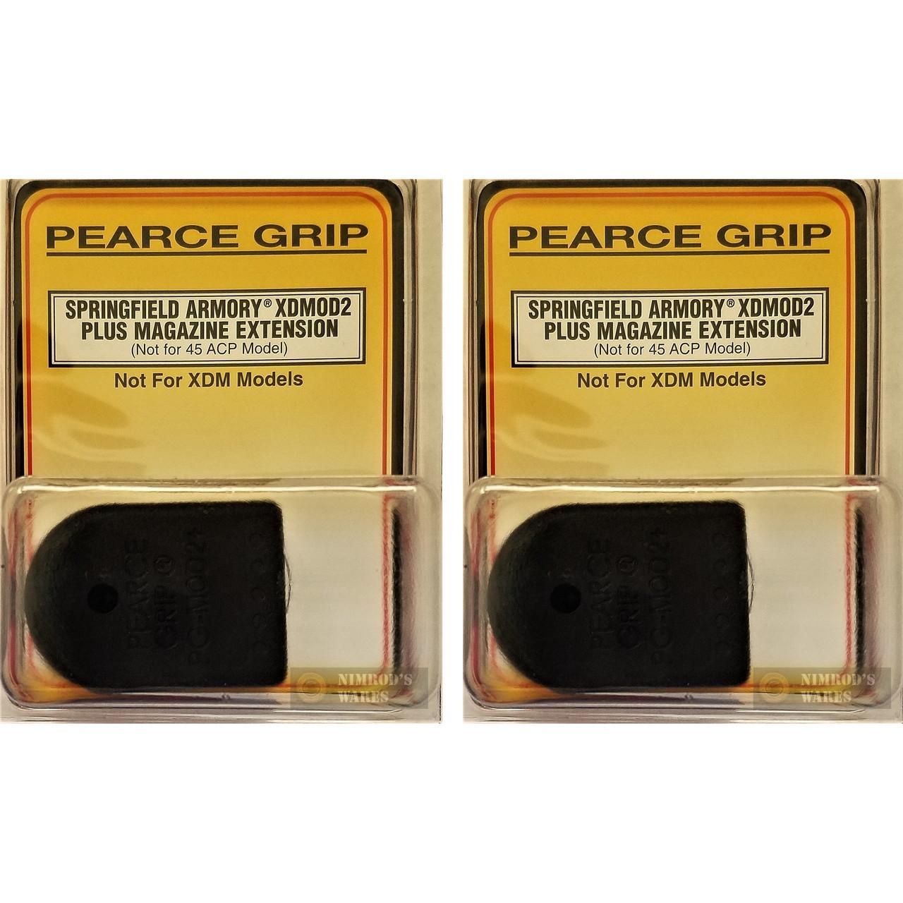 Pearce Grip SPRINGFIELD XD Mod  2 Mod2 Grip Extension PLUS PG-XDMOD2 2-PACK