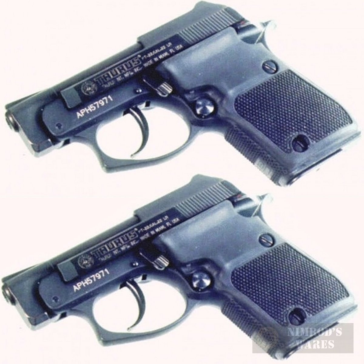 Pearce Grip Taurus PT22 PT-22 PT25 PT-25 Wrap-Around GRIP 2-PACK PG-T22