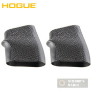 "Hogue 18000 Jr. Universal ""Pocket Pistol"" Grip Sleeve 2-PACK BLACK"