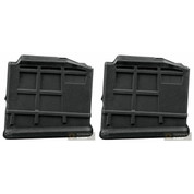 RUGER M77-5P Gunsite Scout .308 5 Round Magazine 2-PACK OEM 90354