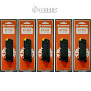 Taurus PT-709 Slim 9mm 7 Round MAGAZINE 5-PACK 5-10709 510709